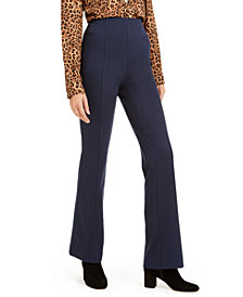 INC High-Waist Curvy-Fit Bootcut Pants, Created for Macy's