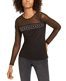 INC Illusion Stud Top, Created For Macy's