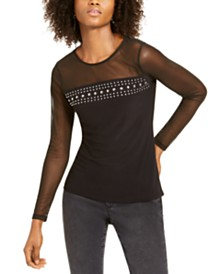 I.N.C. Illusion Stud Top, Created For Macy's