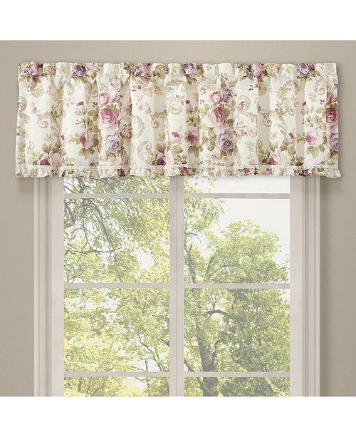 Royal Court Chambord Lavender Window Straight Valance
