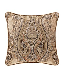 """J Queen Luciana 20"""" Square Decorative Throw Pillow"""