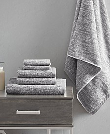 Signature Melange Turkish Cotton Intermingle Jacquard 6-Pc. Towel Set