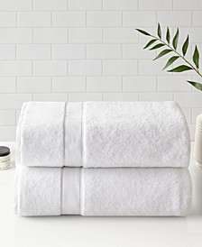 Signature Cotton Bath Sheet 2-Pc. Set