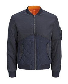 Jack & Jones Men's Autumn Bomber Jacket