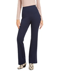 I.N.C. Curvy Seamed Bootcut Pants, Created For Macy's