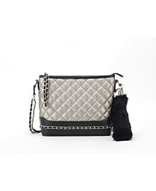 LIKE DREAMS Quilted Minky Handbag