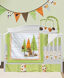 6 Piece Crib Bedding Set