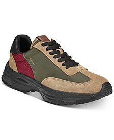 Men's Paneled Runner Sneakers