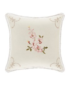 "Jackie 16"" Square Decorative Throw Pillow"