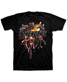 Big Boys Avengers End Game Group T-Shirt