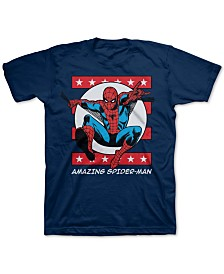 Marvel Big Boys Amazing Spider-Man T-Shirt