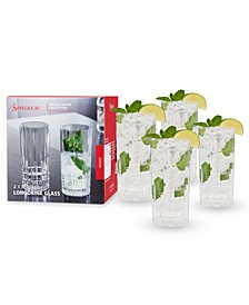 12.3 Oz Perfect Long Drink Glass Set of 4