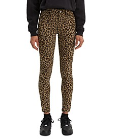 Women's 720 Animal Printed Super Skinny Jeans