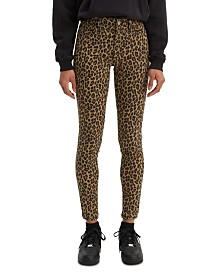 Levi's® 720 Animal Printed Super Skinny Jeans