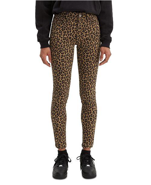Levi's 720 Animal Printed Super Skinny Jeans