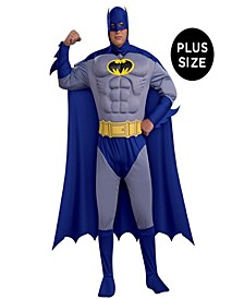 Buy Seasons Men's Batman Brave and Bold Deluxe Muscle Chest Plus Costume