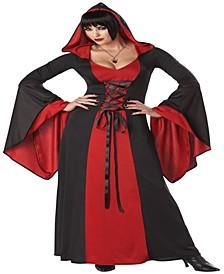 Buy Seasons Women's and Deluxe Hooded Robe Costume