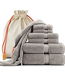 Luxury Hotel Quality 7 Piece Towel Set And Bath Mat, 100% Long Staple Turkish Cotton