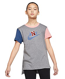 Big Girls Colorblocked Cotton T-Shirt