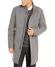 Men's Slim-Fit Overcoat
