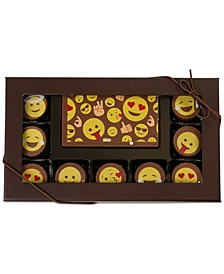 10-Pc. Emoji Gourmet Chocolate Truffles