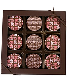 9-Pc. Baby Girl Chocolate-Covered Oreo Cookies