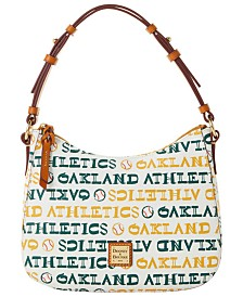 Dooney & Bourke Oakland Athletics Small Kiley Hobo Bag