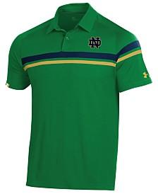 Under Armour Men's Notre Dame Fighting Irish Tour Drive Polo