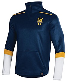 Men's California Golden Bears Team Issue Quarter-Zip Pullover