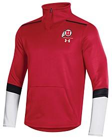 Men's Utah Utes Team Issue Quarter-Zip Pullover