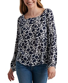 Liane Square-Neck Top