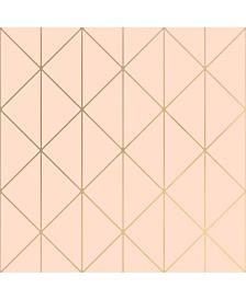 "Engblad Co 21"" x 396"" Diamonds Geometric Wallpaper"
