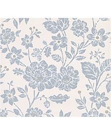 """20.5"""" x 369"""" Bourdain Floral Wallpaper"""