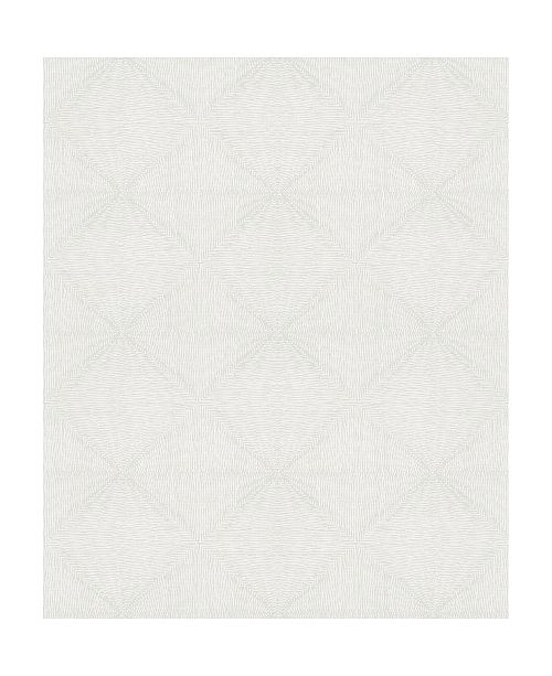 "Marburg 20.5"" x 396"" Mayra Diamond Wallpaper"