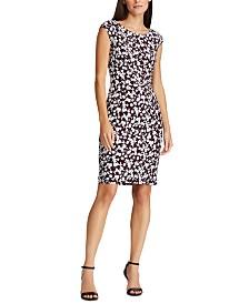Lauren Ralph Lauren Floral Cap-Sleeve Dress