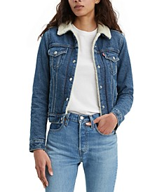 Women's Original Sherpa Trucker Denim Jacket
