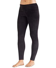 Women's Double-Plush Velour Leggings