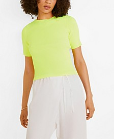 Fluor Ribbed Top