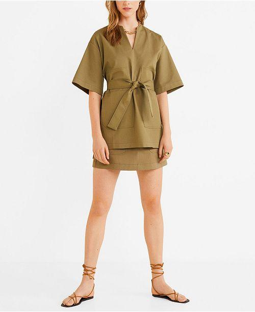 linda precio al por mayor mejor elección Oversized Pocket Kimono Top