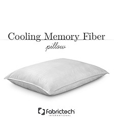 Fabric Tech Cooling Memory Fiber Pillow