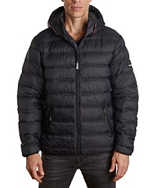 Member's Only Men's Light Weight Puffer Jacket