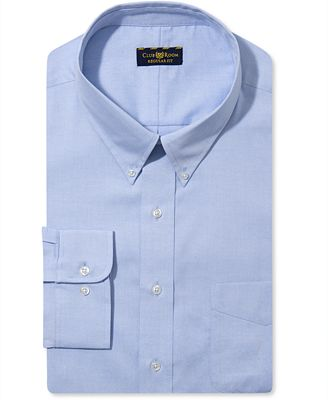 Club Room Estate Big and Tall Wrinkle Resistant Solid Dress Shirt