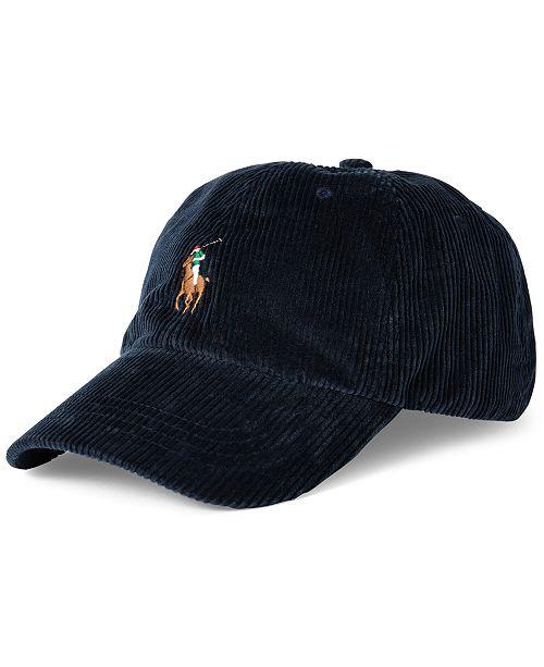 Polo Ralph Lauren Men's Corduroy Logo Hat
