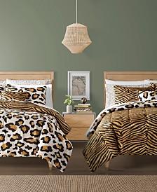 Safari Reversible 12-Pc. Comforter Sets