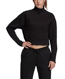 adidas Varsity Cropped Sweatshirt