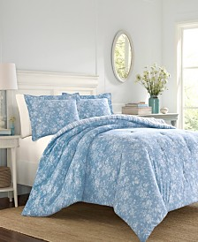 Laura Ashley Walled Garden King Comforter Set