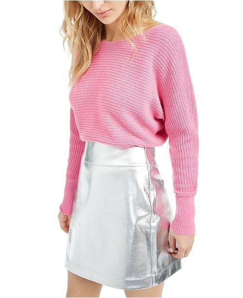 Bar III Becca Tilley x Dolman-Sleeve Sweater, Created For Macy's