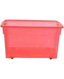 16 Gallon Rolling Bin Storage Organizer
