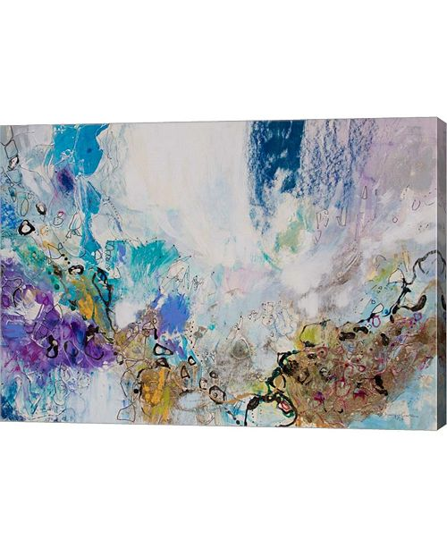"Metaverse Blue Series 15 by Jennifer Gardner Canvas Art, 28"" x 20"""