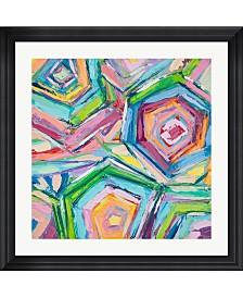 """Metaverse Beach Umbrellas by Ann Marie Coolick Framed Art, 32"""" x 32.25"""""""